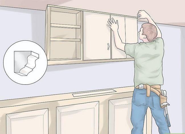 Hoe mouleren aan kasten toe te voegen