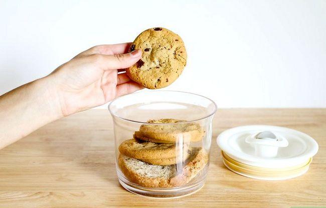 Titel afbeelding Soften Hard Cookies Step 4
