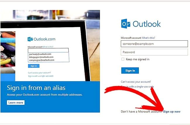 Titel afbeelding Get a Windows Live Mail Account Stap 1