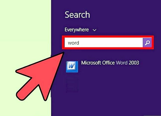 Titel afbeelding Access Word on Windows 8 Step 3