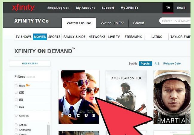 Titel afbeelding Access Comcast on Demand Online Stap 10