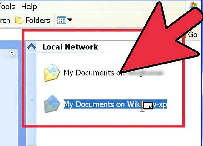 Titel afbeelding Toegang tot gedeelde mappen op een netwerk Stap 7