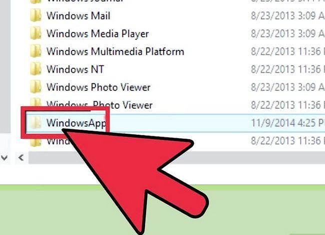 Titel afbeelding Access Metro Style Apps installatiemap in Windows 8 Stap 5