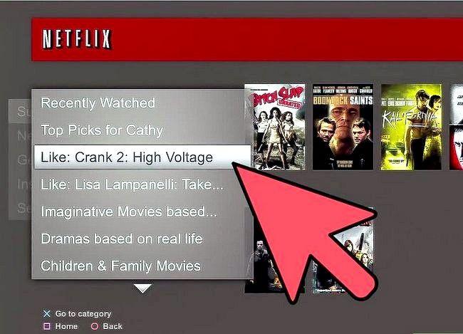 Titel afbeelding Access Netflix op PlayStation 3 Stap 6