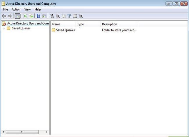 Titel afbeelding Access Active Directory in Windows Server 2008 Stap 1