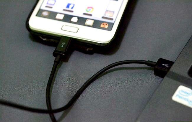 Titel afbeelding Activate the USB Tethering op een Samsung Galaxy Note Stap 1