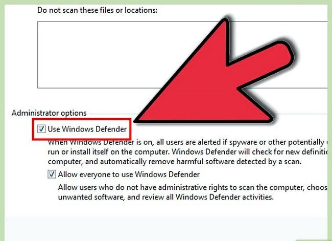 Titel afbeelding Turn On Windows Defender Step 13