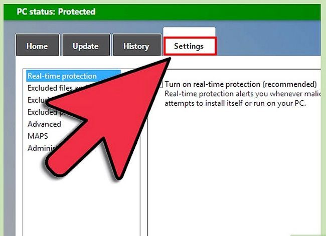Titel afbeelding Turn On Windows Defender Step 2