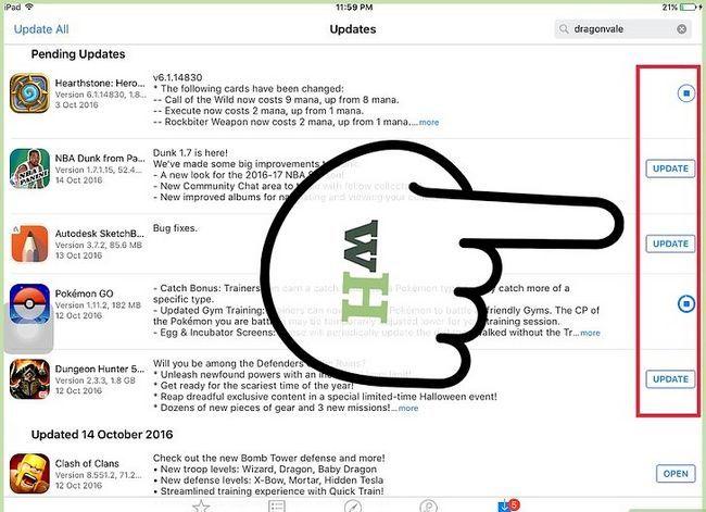 Titel afbeelding Update Apps op een iPad Stap 14