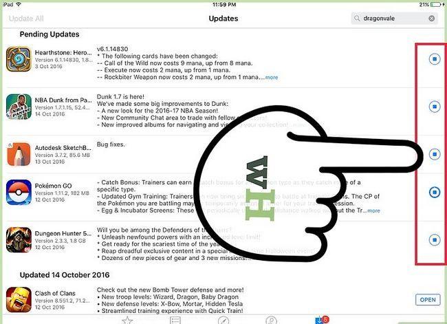 Titel afbeelding Update Apps op een iPad Stap 15