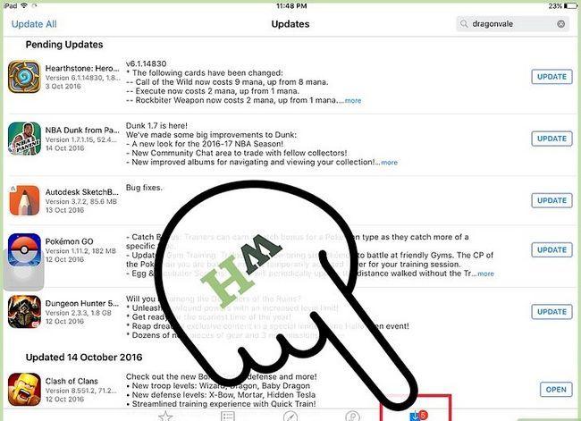 Titel afbeelding Update Apps op een iPad Stap 3
