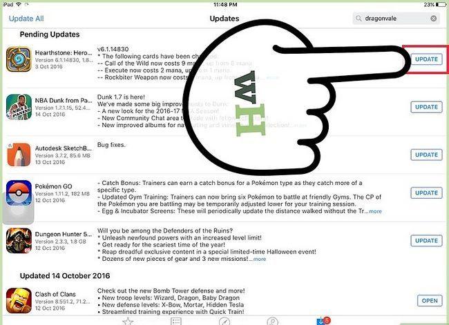 Titel afbeelding Update Apps op een iPad Stap 4
