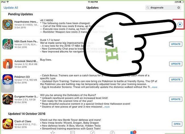 Titel afbeelding Update Apps op een iPad Stap 6