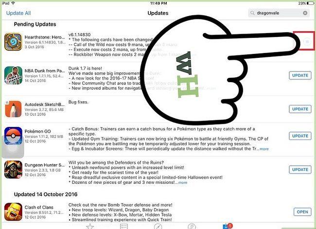 Titel afbeelding Update Apps op een iPad Stap 7