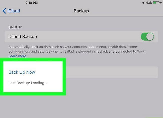 Titel afbeelding Update iOS Software op een iPad Stap 13