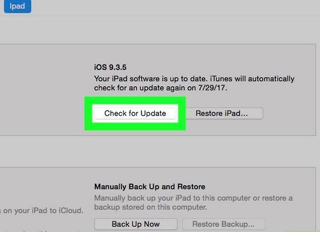 Titel afbeelding Update iOS-software op een iPad Stap 17