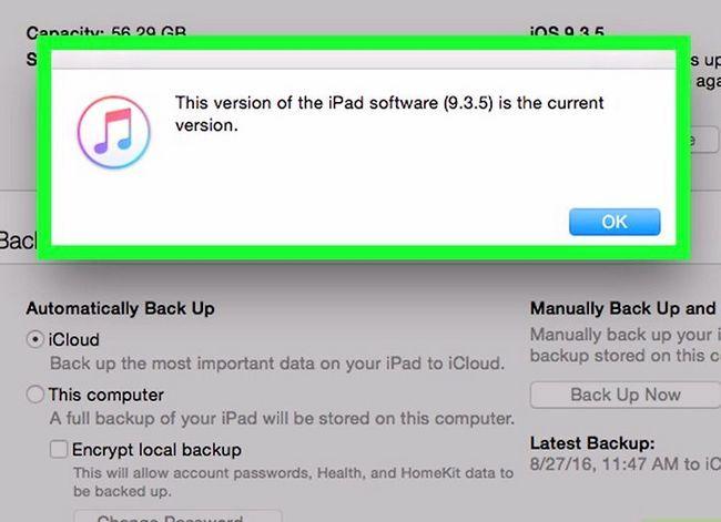 Titel afbeelding Update iOS Software op een iPad Stap 18
