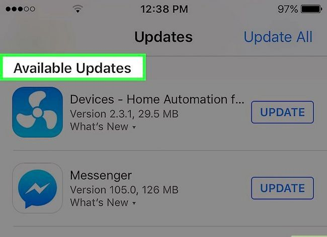 Titel afbeelding Update Facebook Messenger Step 3