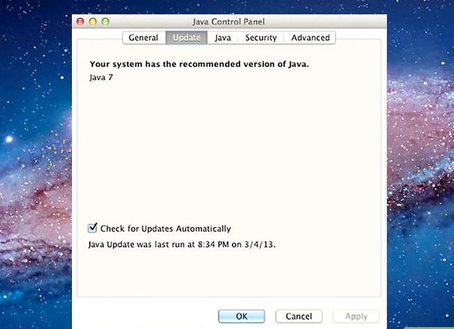 Titel afbeelding Update Java Step 6