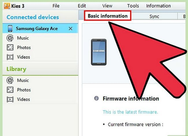 Titel afbeelding Update the Samsung Galaxy Ace Step 11