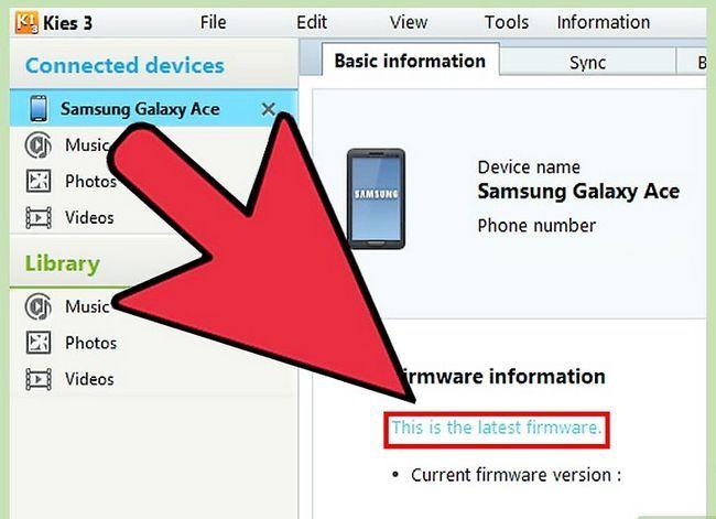 Titel afbeelding Update the Samsung Galaxy Ace Step 12