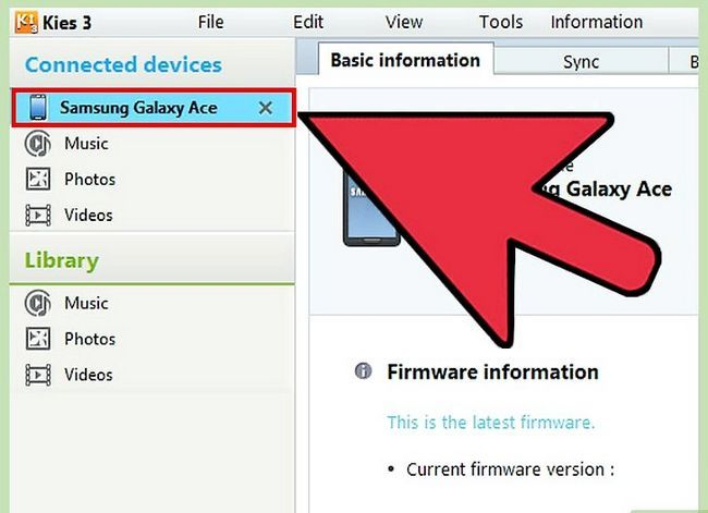 Titel afbeelding Update the Samsung Galaxy Ace Step 8