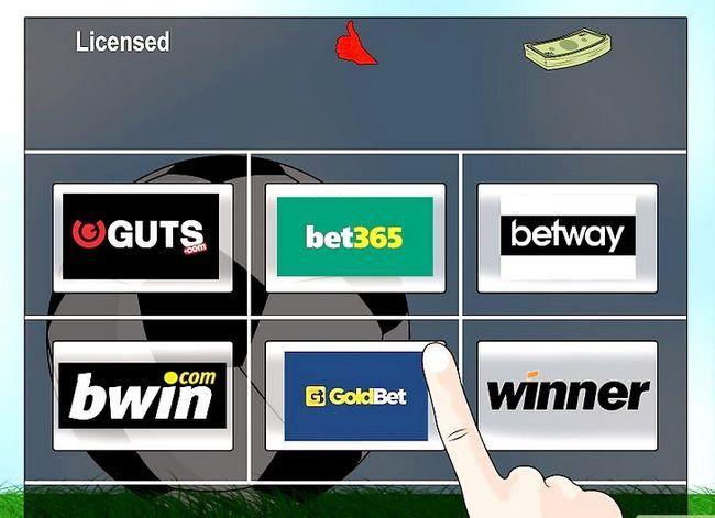 Titel afbeelding Bet on Soccer Stap 1