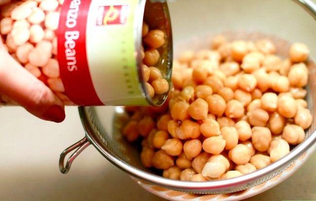 Titel afbeelding Make Garlic Hummus Step 1