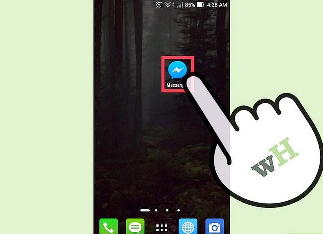 Titel afbeelding Verwijder Facebook-berichten op een iPhone of Android Stap 5