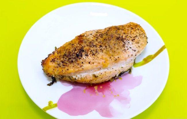 Titel afbeelding Bake Boneless Chicken Breast Step 6