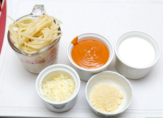 Titel afbeelding Cook Pasta with White and Red Sauce Step 1