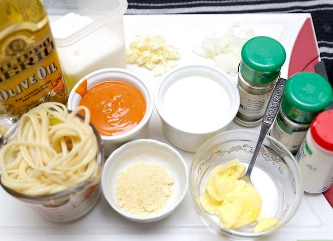 Titel afbeelding Cook Pasta with White and Red Sauce Step 8