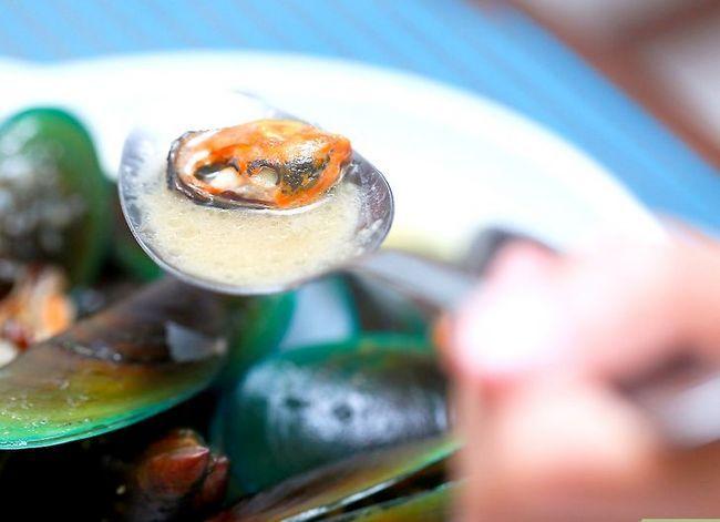Titel afbeelding Eat Mussels Step 5