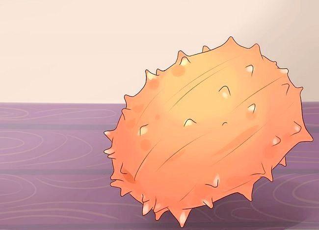 Titel afbeelding Eat a Kiwano (Horned Melon) Step 1