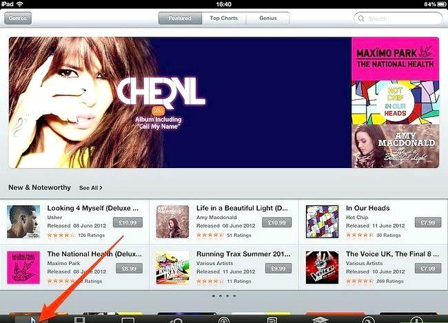 Afbeelding met de titel Koop muziek van iTunes vanaf je iPad Stap 2