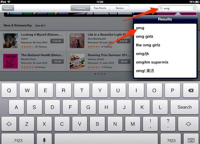 Afbeelding met de titel Koop muziek van iTunes vanaf je iPad Stap 3