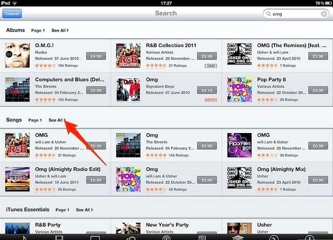 Afbeelding met de titel Koop muziek van iTunes vanaf je iPad Stap 4