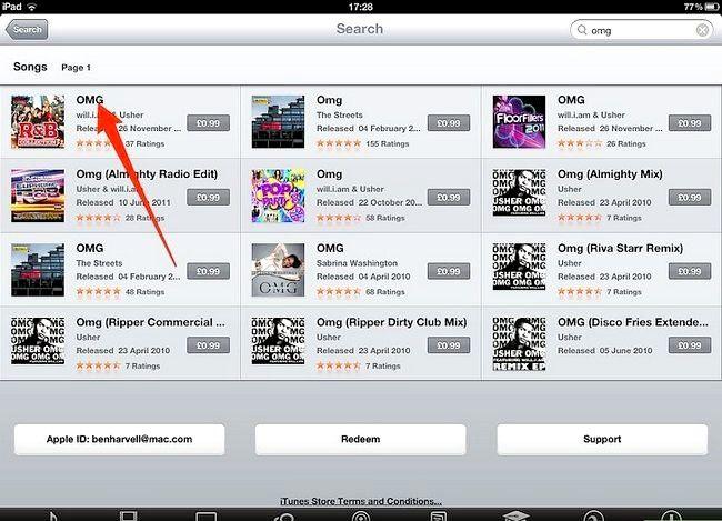 Afbeelding met de titel Koop muziek van iTunes vanaf je iPad Stap 5