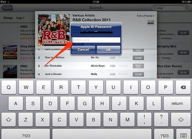 Afbeelding met de titel Koop muziek van iTunes vanaf je iPad Stap 8