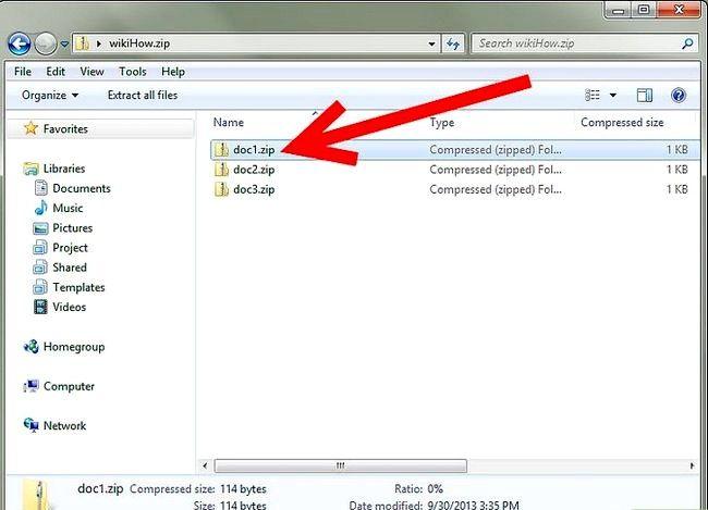 Titel afbeelding Zip a File in Windows XP Stap 10