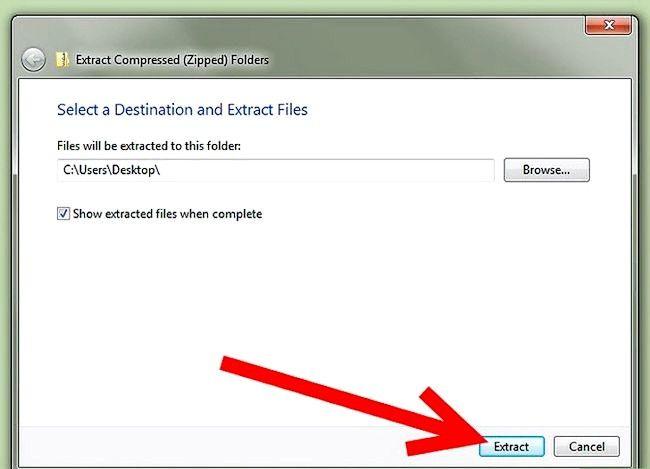 Titel afbeelding Zip a File in Windows XP Stap 14