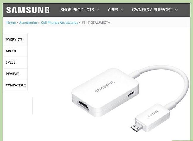 Titel afbeelding Connect a Galaxy Device op een tv met een USB Stap 2