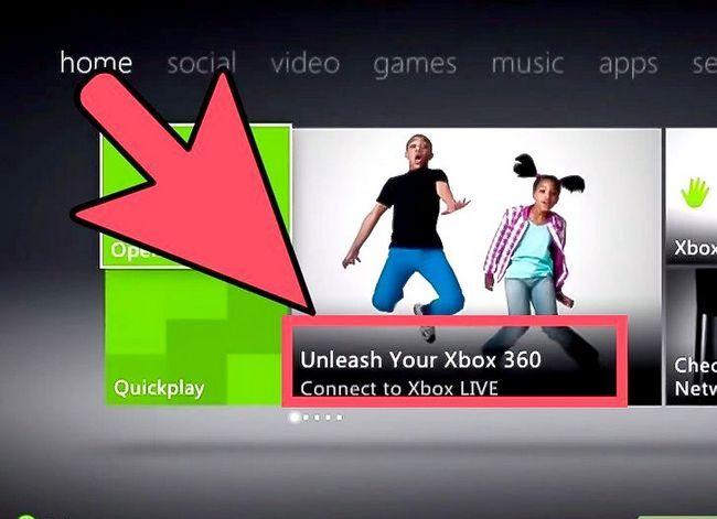 Titel afbeelding Hook Up Xbox 360 Live Step 5
