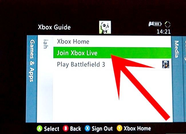 Titel afbeelding Set Up a Xbox Live Account Step 5