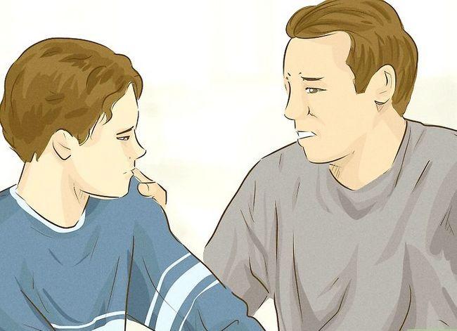 Titel afbeelding Vertel of je tiener misbruikt wordt Stap 16