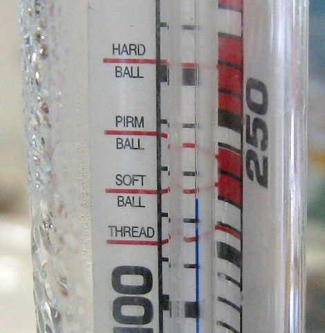 Titel afbeelding Candy thermometer detail