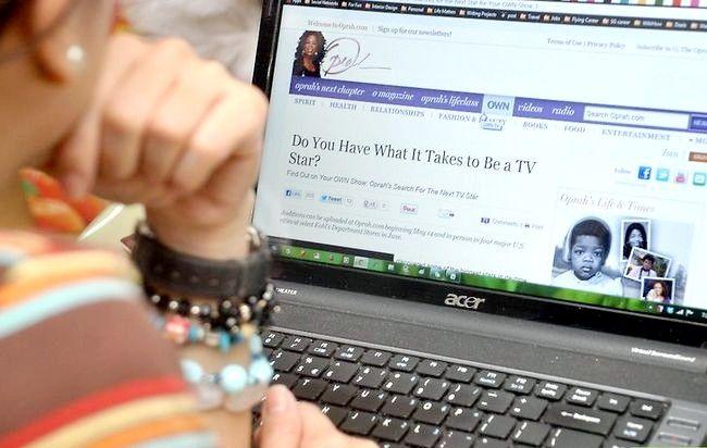 Titel afbeelding Contact Oprah Winfrey Step 5