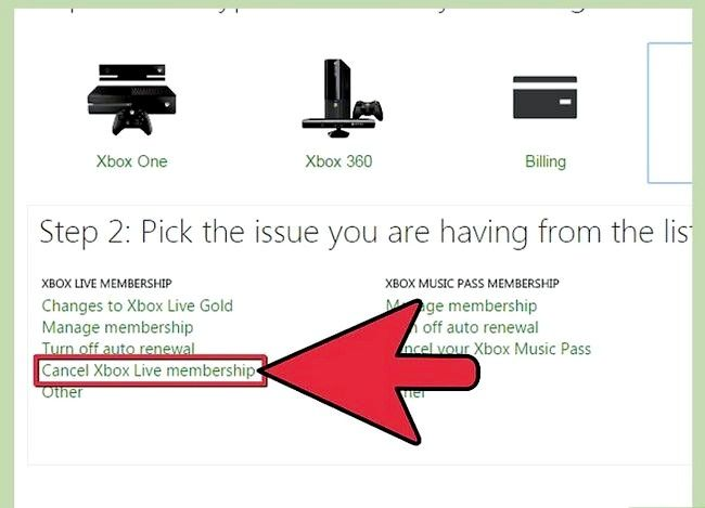 Titel afbeelding Contact Xbox Live Step 3