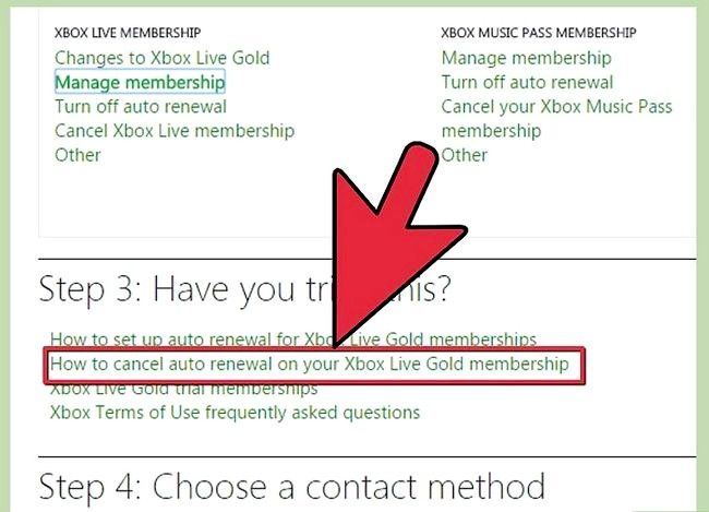 Titel afbeelding Contact Xbox Live Step 4
