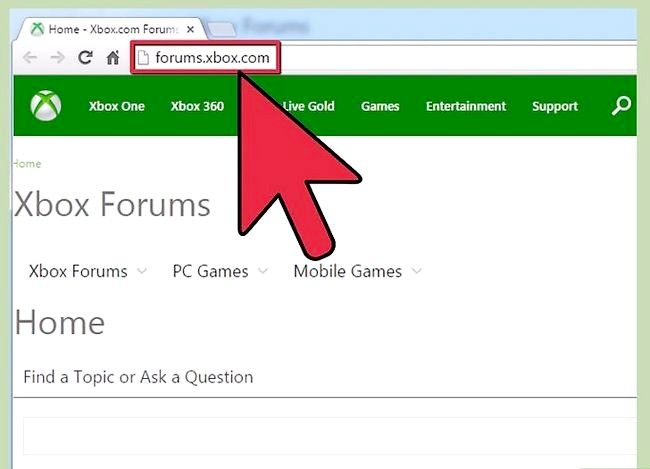 Titel afbeelding Contact Xbox Live Step 7